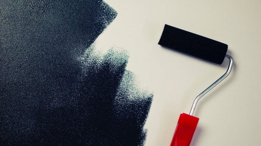 painting interior wall Calgary