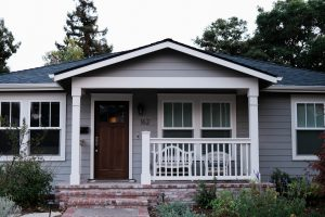 Exterior siding and trim painting in Calgary