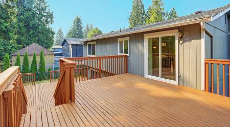 deck staining Image Line Painting