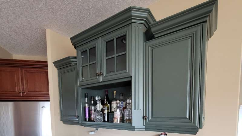 Kitchen Cabinet Repainting Calgary Ab, Painting Kitchen Cabinets Calgary