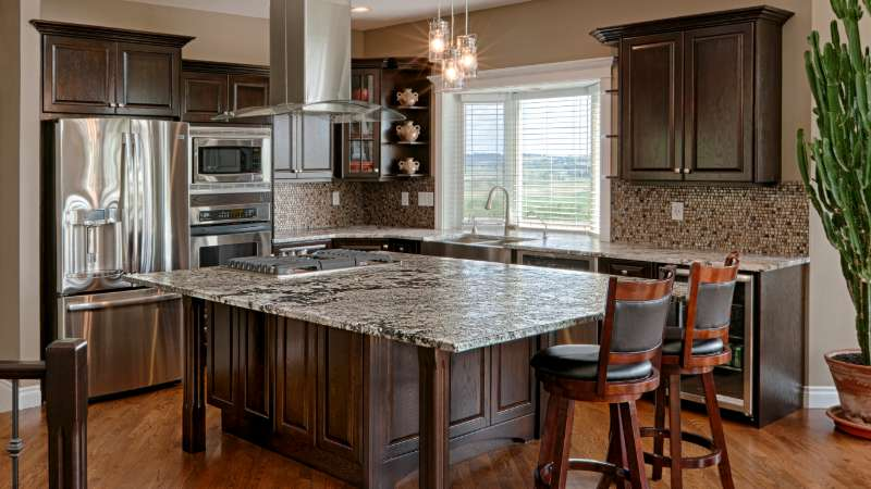 kitchen cabinets Image Line Painting